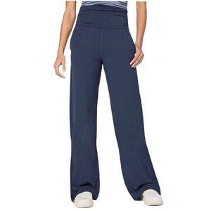 Lululemon Take It Easy Pant Heathered Naval Blue